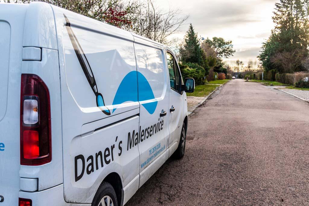 Daner's Malerservice Varevogn